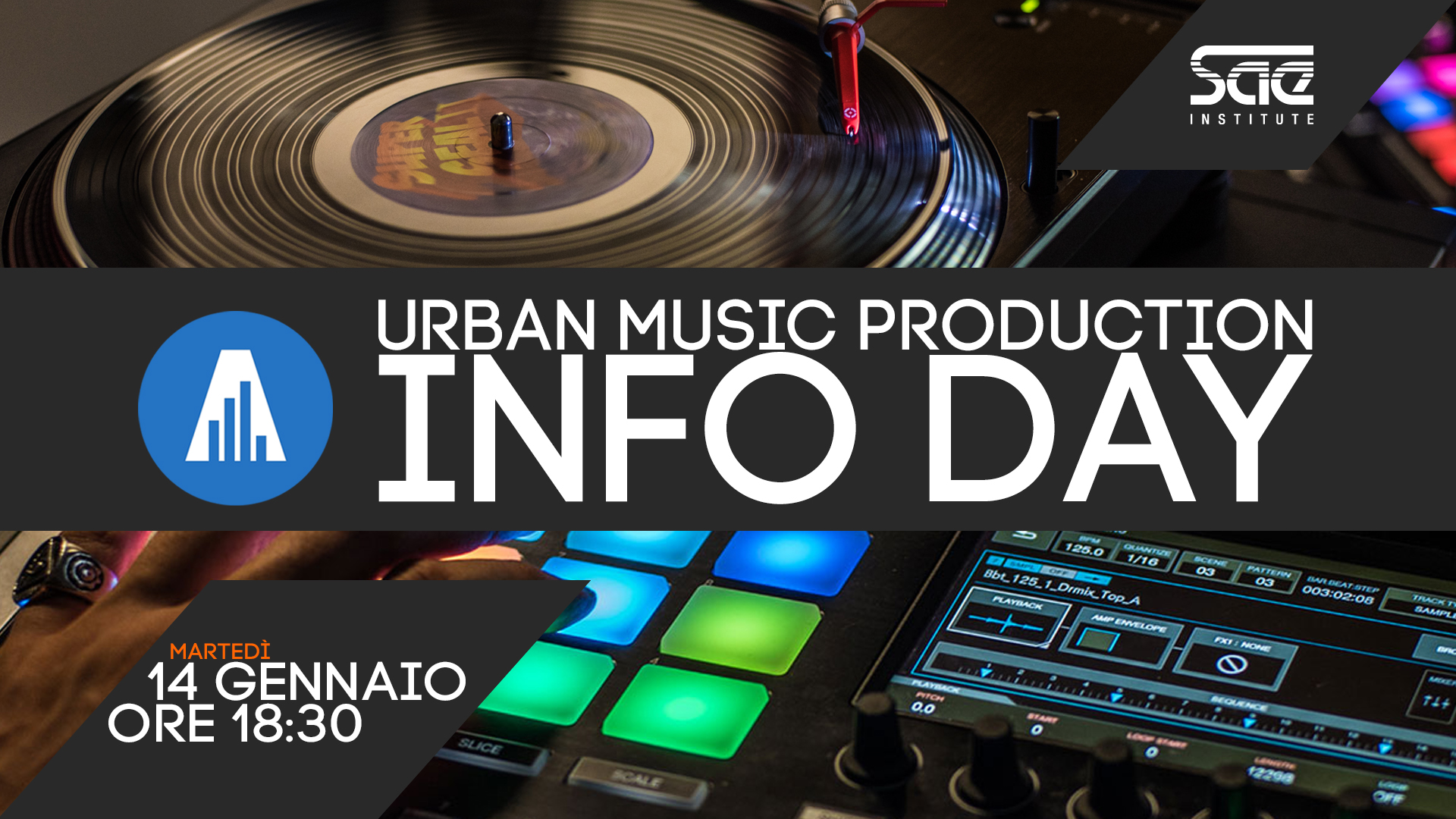 info day urban music production 2020