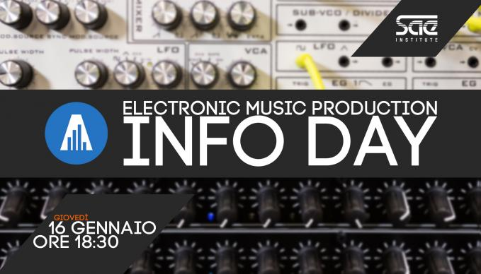 info day electronic music production
